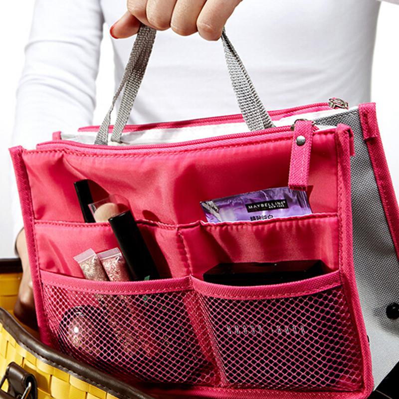 ... Y FLY 2016 Multifunction Makeup Organizer Bag Women Cosmetic Bags  toiletry kits Outdoor Travel Bags Ladies ... ef85af625a