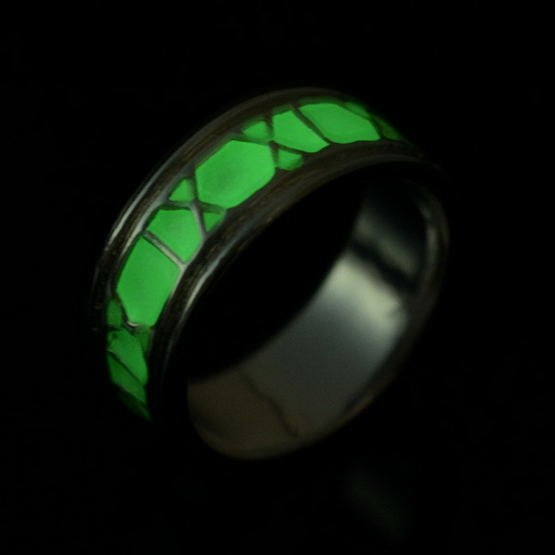 Online buy wholesale glow in the dark ring from china glow for Glow in the dark wedding rings