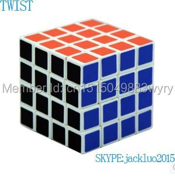 magic cube wholesale china 4x4x4 magic cube Stickerless cubo magico Colorful Learning&Educational magic cube Toys(China (Mainland))