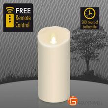 3.5 » * 7 » новый луминара ароматические из светодиодов Flamless воск мерцания свечи realisticivory, Питание от 2d, Более 500 ч.