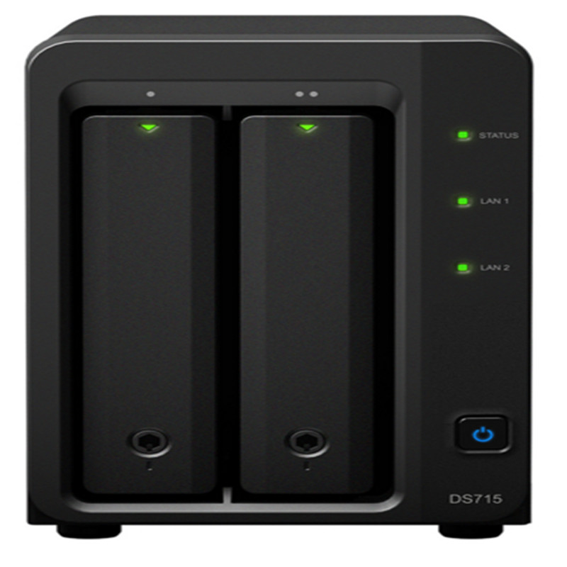 Synology ds715 Cloud storage server nas Network storage nas(China (Mainland))