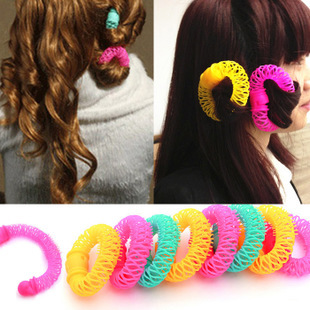 New arrival hair roller lucky donuts hair sticks hair curlers hairdressing tool big Small Freeshipping