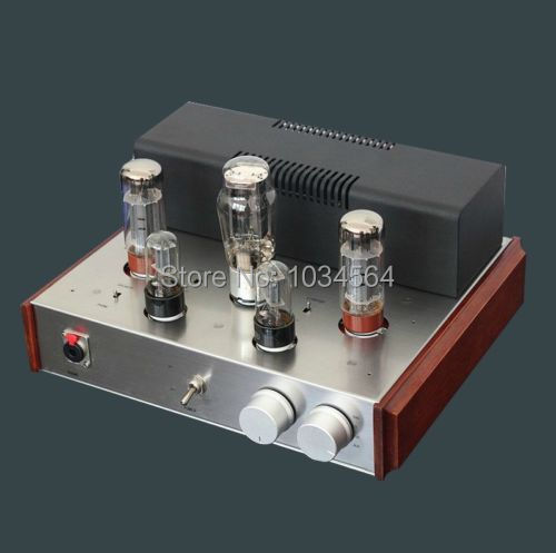 (Hot sale high-quality)Latest 6N8P+5Z3P+EL34B tube amp amplifier with headphone for HIFI 110V/220V(100% brand new)<br><br>Aliexpress