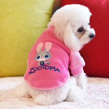 Buy Cute Zootopia small dog pet cat hoodie vest costume winter warm fleece dog puppy coat jacket clothing chihuahua dog clothes for $3.91 in AliExpress store