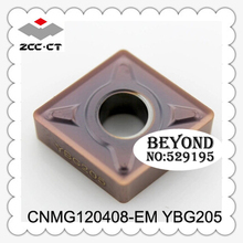 Buy Cnmg120408-em Ybg205, Zcc Cutting Blade,milling Insert Zhuzhou Diamond Original Products, Price Ratio Extremely High for $31.38 in AliExpress store