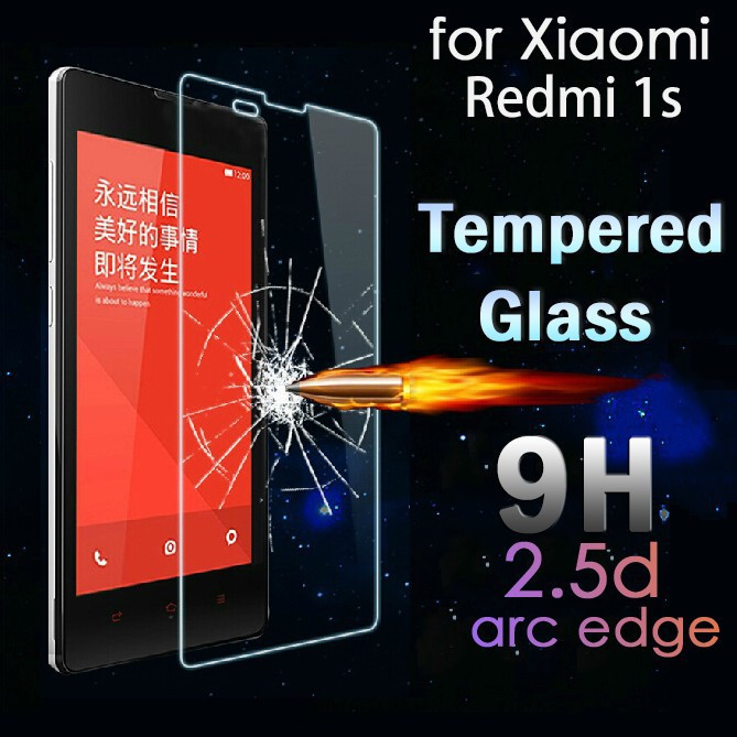 Premium Tempered Glass for Xiaomi Redmi Hongmi11S Explosionproof 9H 0.25D Arc Edge 0.26mm Toughened Screen Protector Film(China (Mainland))