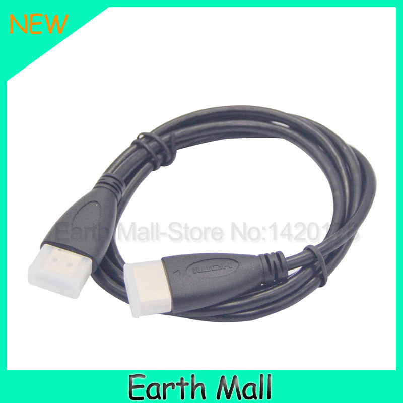 3Ft 1m HDMI V1.4 AV Cable High Speed 3D Full HD 1080P for Xbox DVD HDTV Hot for hdmi cable free shipping(China (Mainland))