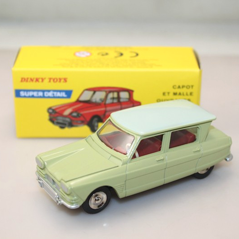DINKY TOYS Antique car model 1/43 557 AMI 6 CITROEN SUPER DETAIL Collect the preferred the model Car(China (Mainland))