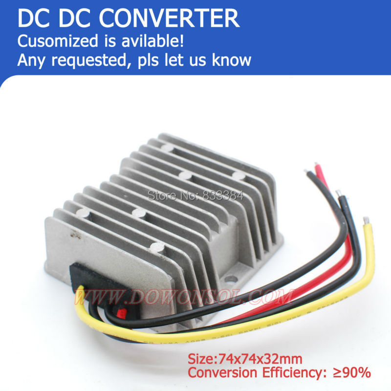 HOT SALE !! DC-DC Boost Buck converter 12V to 27V 10A 270Wmax battery pack high power supply transformer(China (Mainland))