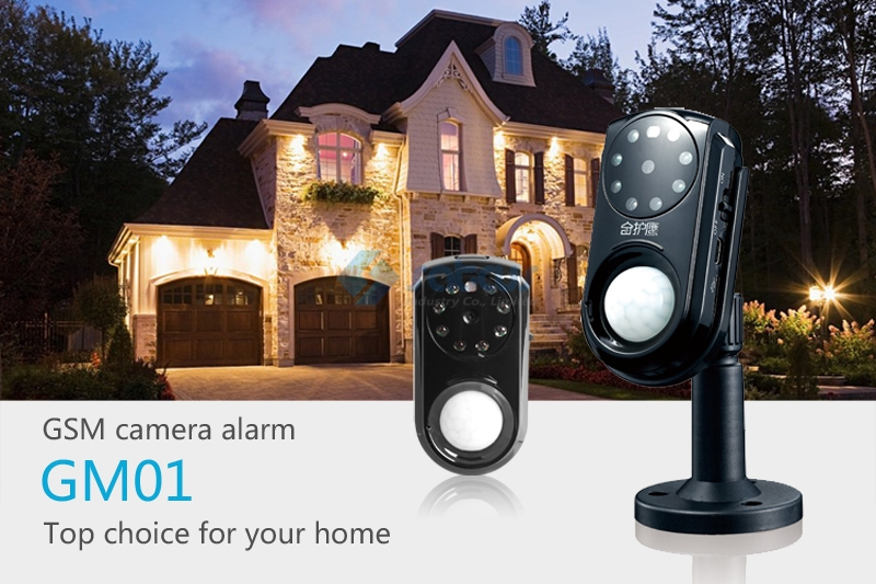 produto GSM Security Alarm System with Camera PIR Motion Detection MMS Function Night Vision