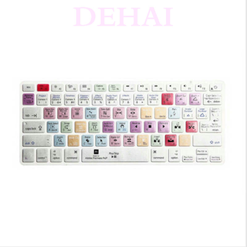 "Здесь продается  50pcs Adobe Premiere Pro Keyboard Cover Shortcut Printed Cover for MacBook Air Pro Retina 13"" 15"" 17"" iMac Wireless & MacBooks  Компьютер & сеть"