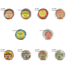 2008yr 10 Kinds of Different Flavor New taste Orange Puer tea,Ferment Tea,Orange Peel+Old Puer Tea,Slimly Tea,Free Shipping