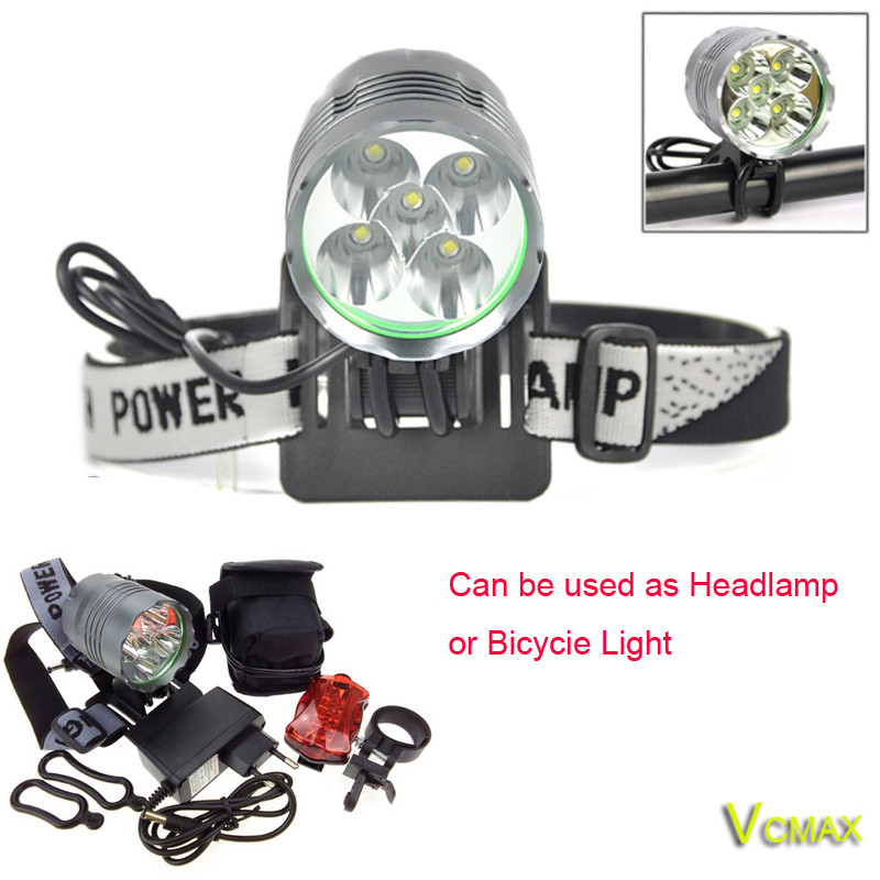 7000LM-Headlight-Bicycle-Light-Set-5x-XM-L-T6-LED-Cycling-Headlamp-Lantern-Bike-Lamp-Light