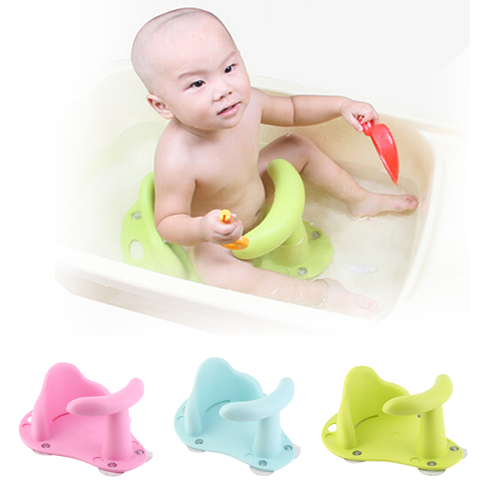 New Baby Child Toddler Bath Tub Ring Seat Infant Anti Slip Safety Chair Kids