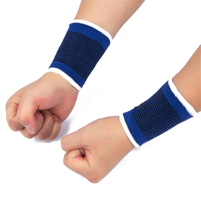 1 Pair wristband wrist support Glove Elastic Brace Sleeve Sport Bandage Gym Wrap Basketball Volleyball Badminton Wrist brace(China (Mainland))