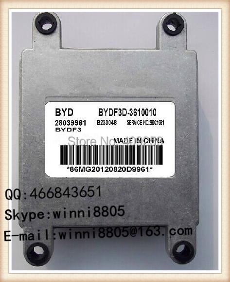 Engnine Control Unit / For BYD China Chun Jie car engine computer board /car pc /MT20U Series/ 28039961 EBYDF3D-3610010(China (Mainland))