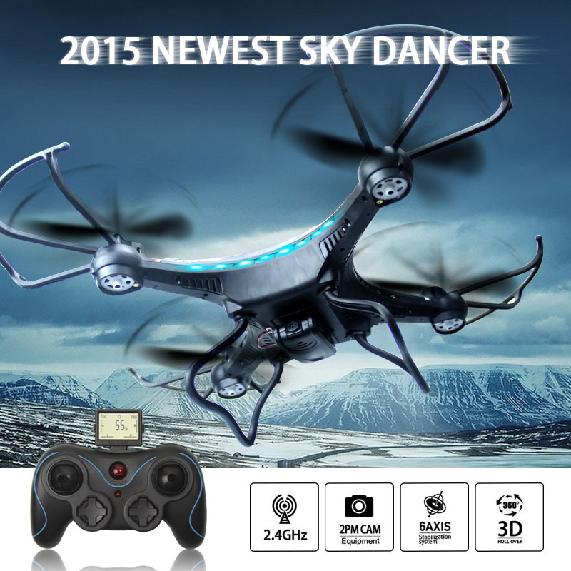 JJRC H8C Mini Phantom 2 FPV Drone 2.4G 4CH 6-Aixs RC Quadcopter With 2MP Camera