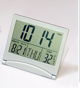 Creative Smart Home Alarm Clocks Foldable Design Electronic alarm clock with Countdown function 033(China (Mainland))