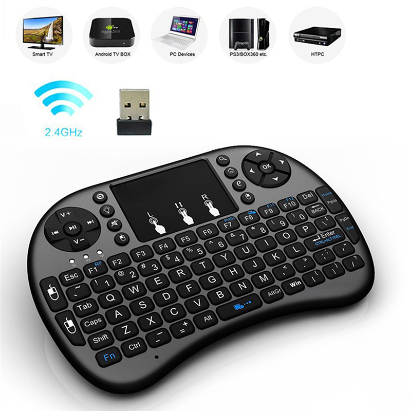 New Fly Air Mouse Wireless Game Keyboard Remote Controller Rechargeable 2.4Ghz Keyboard For Smart TV Mini PC For Android(China (Mainland))