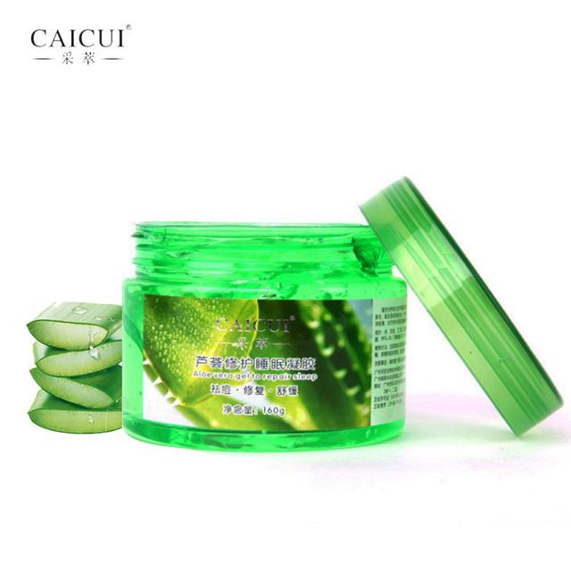 buy aloe vera plant sleep mask gel cream face mask essence moisturizing repair. Black Bedroom Furniture Sets. Home Design Ideas
