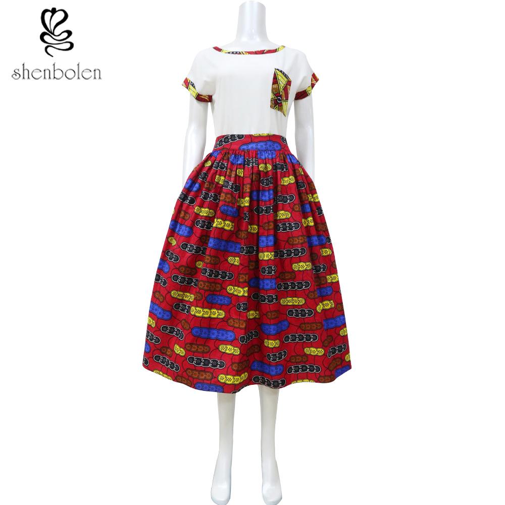 africa clothing 2016 summer maxi skirt tutu skirt
