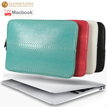 "Ultrabook snake skin Sleeve bag For Macbook Pro/Air/Retina12""13""14""15.4"" Laptop Inner Case for 13 inch Notebook with zipper bags(China (Mainland))"