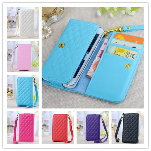 New! Flip Wallet fashion Quality bag Cover Protector Skin Soft PU Leather Case For iPhone 4 4G 4S 3G 3GS Better touch(China (Mainland))