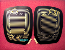 Mirror Glass Heated Pad Mat Defoggers Remove Frost Fit Most DC 12V Vehicle Car(China (Mainland))