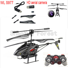 Supply Weili S977 3.5-channel HD aerial camera remote control helicopter shatterproof(China (Mainland))