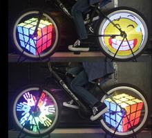 Обезьяна свет красочные нет программируемый из светодиодов 96 мигают animatic экран хвост велосипед назад лампы