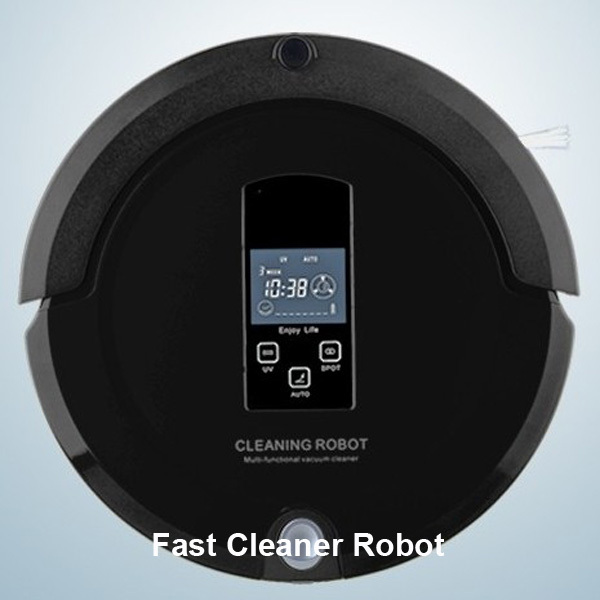 Robot Vaccum Cleaner ,Multifunctional (Auto Sweep,Vacuum,Mop,Sterilize),LCD Touch Screen,Schedule,2-Way Virtual Wall,Auto Charge(China (Mainland))
