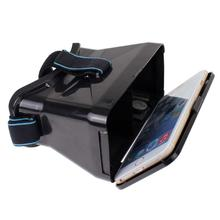 High quality Universal Head Plastic Virtual Reality VR Vedio 3D Glasses for 4.7-6″  Screen Phone Google Cardboard Glasses