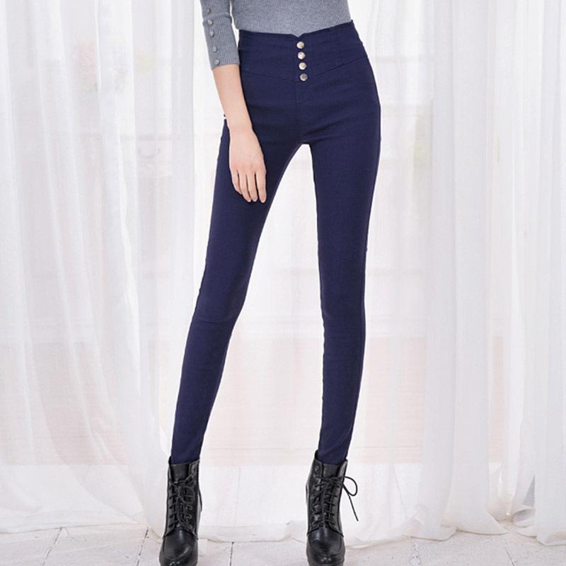 Fashion 2016 New Summer Elegant Women's OL Work Wear Slim Stretch Pencil Pants Trousers Leggings For Women/Female Plus Size 3XL(China (Mainland))