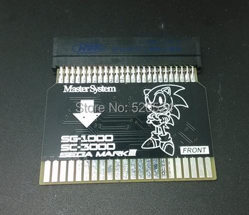 SMS2SG1000 Sega Master System U S Version to Sega MARK II Japanese Version Adapter SMS Adapter