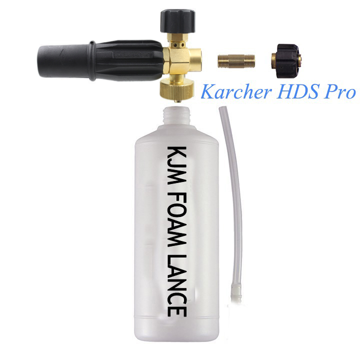 Free shipment high quality pressure washer compatible Foam Lance Foam Cannon for Karcher HD pressure washers(China (Mainland))