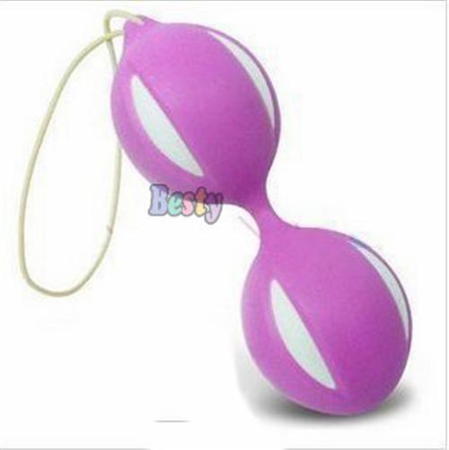 Female Women's Smart Duotone Ben Wa Ball Weighted Kegel Vaginal Tight Exercise Machine Vibrators Toys(China (Mainland))