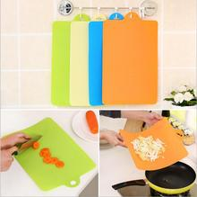 Buy 1 Pcs 39*25cm Kitchen Cooking Tools Flexible Plastic Cutting Board Food Slice Cut Chopping Block for $2.66 in AliExpress store