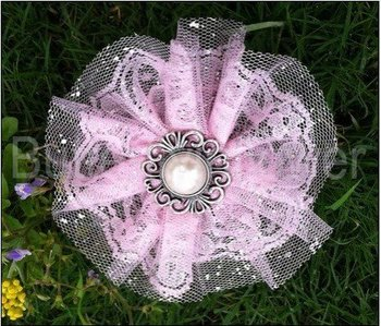 Pink Lace Flowers on Etsy A global handmade and vintage Pretty Lace flower  In stock  240pcs/lot