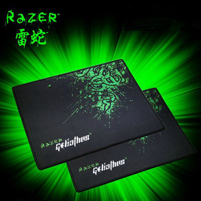 With Retail Package razer goliathus gaming mouse pad 300*250*2mm locking edge mouse mat speed/control version for dota2 diablo 3(China (Mainland))