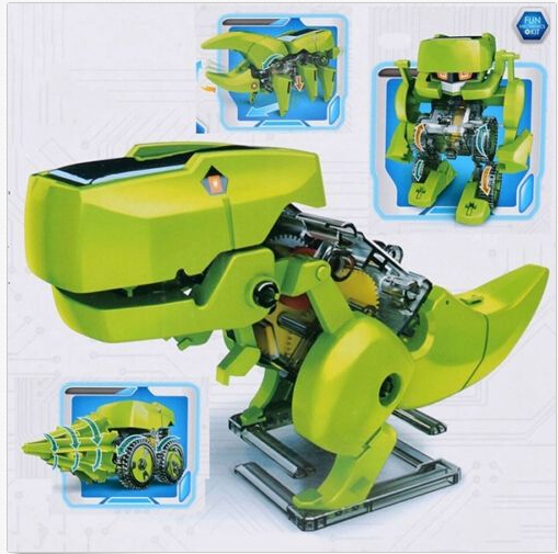 DAGU 4-In-1 Solar Powered Robot DIY Kit Juguete Funny Gadgets Educational Model Building Kits(China (Mainland))