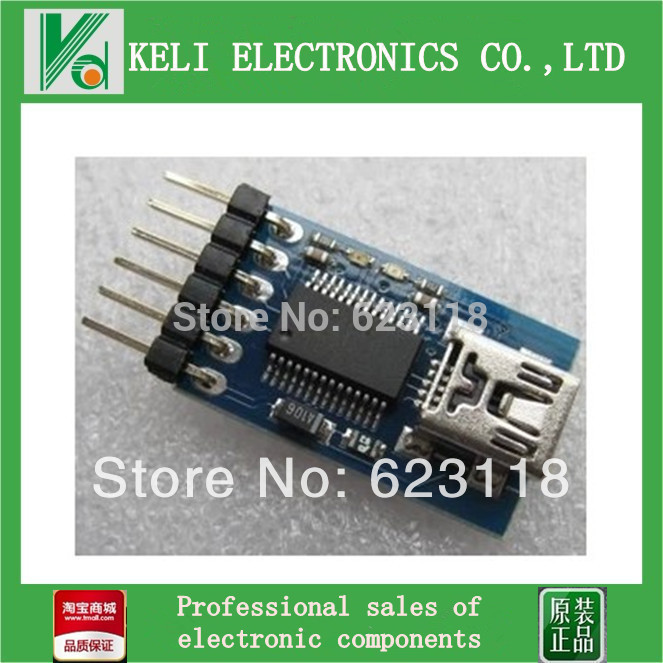 Free Shipping 2pcs/lot FT232RL USB To Serial Line Download Line Downloader USB TO 232 100% new original(China (Mainland))