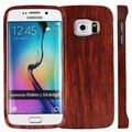 Nature Real Wood Case for Samsung Galaxy S S6 edge G9250 Genuine Wooden Natural Cases Mobile