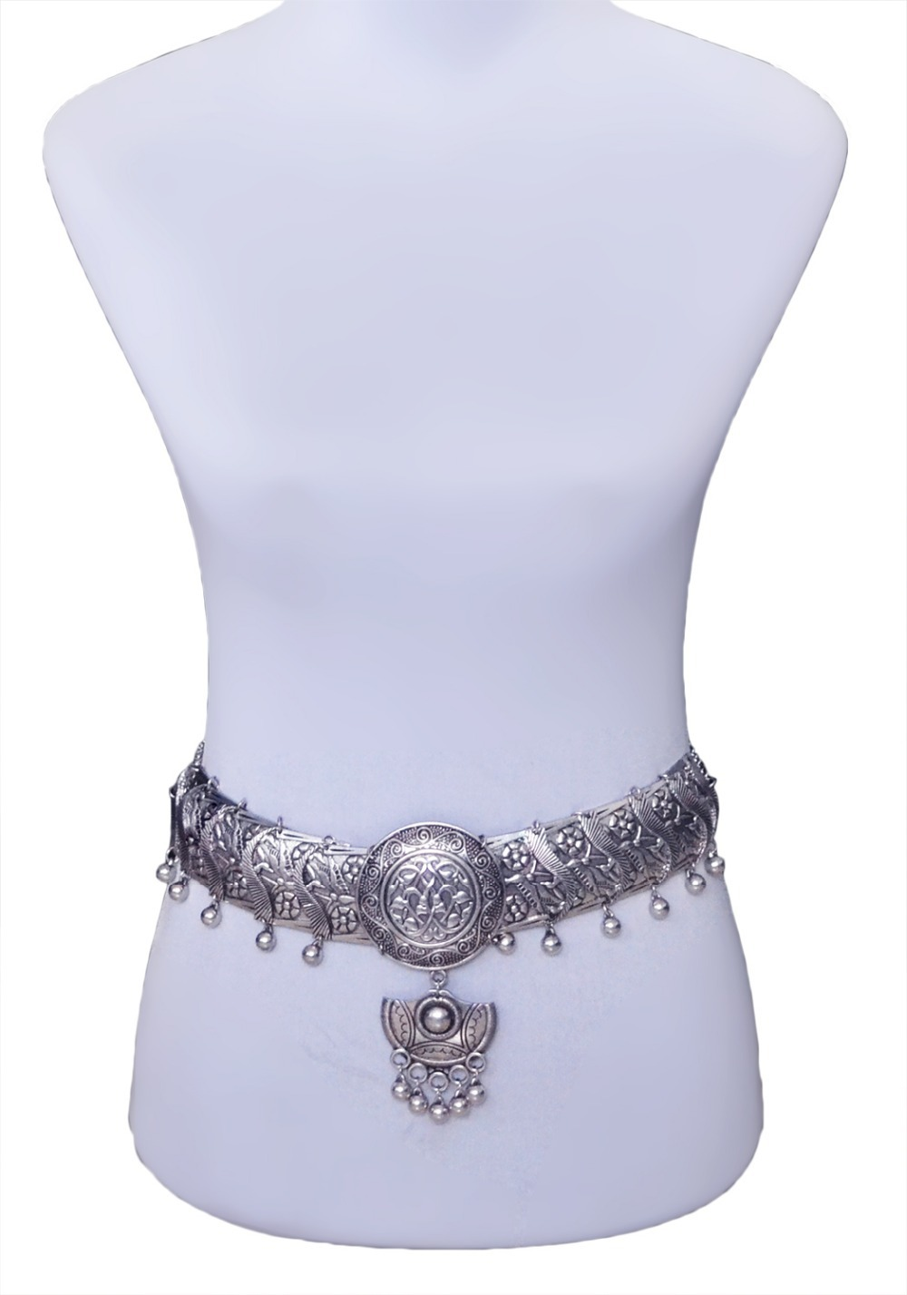 Gypsy Silver Hippie Carved Large Round Turkish Bohemian Shimmy Belt Dance Body Necklace Dangle Metal Balls Belly Chain Jewelry<br><br>Aliexpress