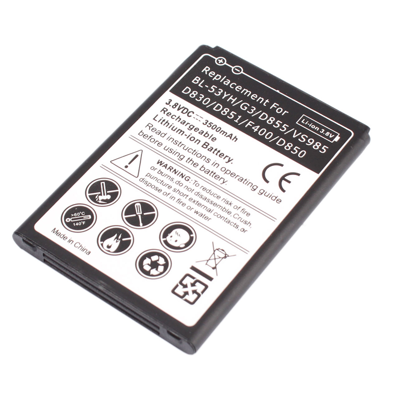 2015 New Rechargeable 3500mAh Battery for LG G3 D855 VS985 #77480<br><br>Aliexpress