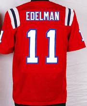 2017 Super Bowl Men's 11 Julian Edelman 12 Brady Jersey 87 Rob Gronkowski Navy Color Red White Fast Free Shipping All Stitch(China (Mainland))