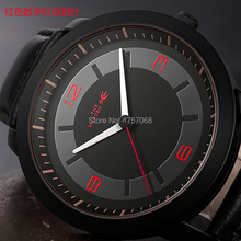 OE Genuine really thin quartz watch strap casual fashion tide male secondary school sports waterproof watch