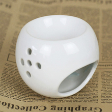 New Style Good Quanlity White Porcelain Incense Burner Candles And Essential Oil Burner Home Furnishing Decoration Air Clean(China (Mainland))