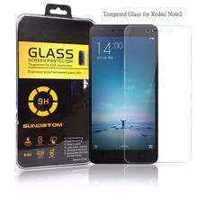 Sundatom Xiaomi редми Note2 закаленное стекло экрана протектор для Hongmi примечание 2 взрывозащищенный гвардии
