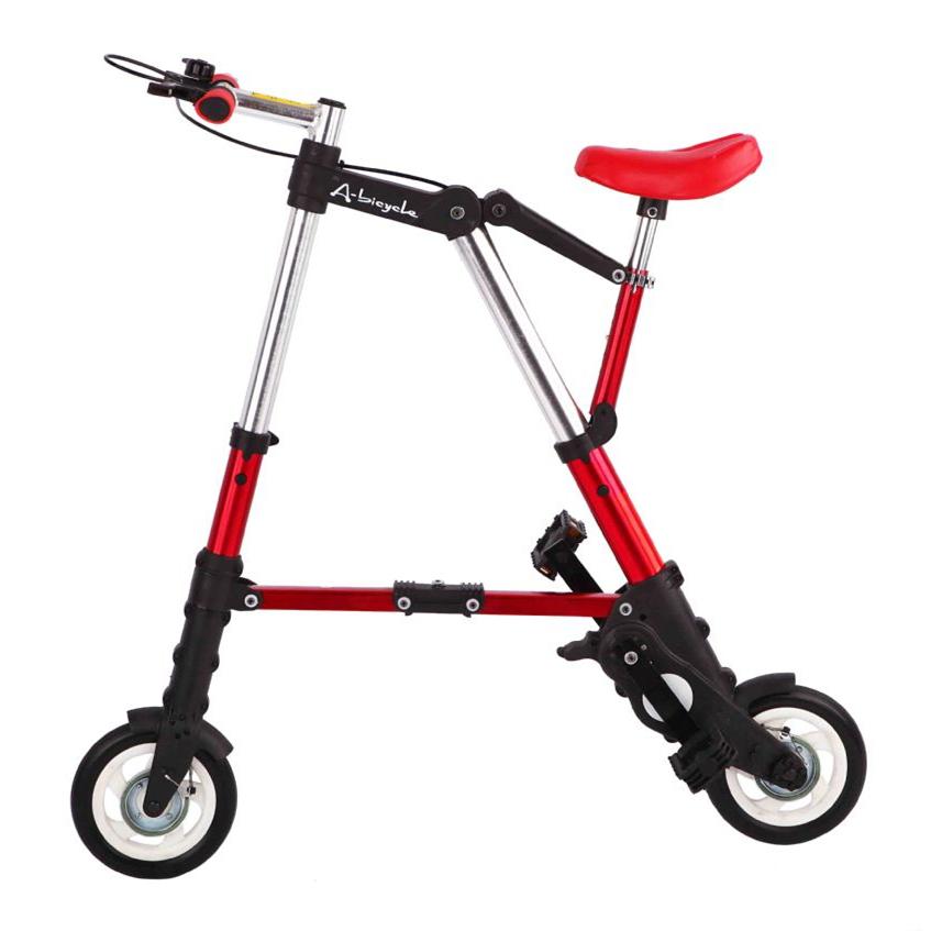 hot lightweight 8inch wheel portable bike folding bike mini a bike fashion foldable bicycle mini. Black Bedroom Furniture Sets. Home Design Ideas