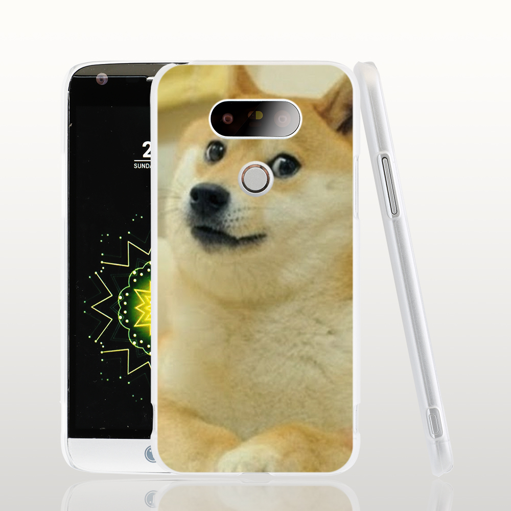 18617 Doge Internet Funny cell phone protective case cover for LG G5 G4 G3 K10 K7 Spirit magna(China (Mainland))